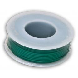 Rollo de Cable Calibre 22 Verde