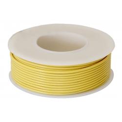 Rollo de Cable Calibre 22 Amarillo
