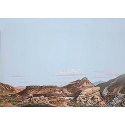 Paisaje de Montañas en Desierto B .