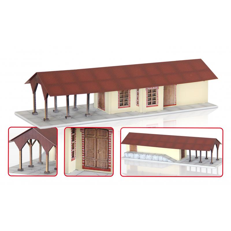 HO - Estación de Ferrocarril Central